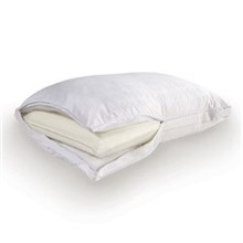 Sealy Accessories sealy memory core pillow and comfort cover