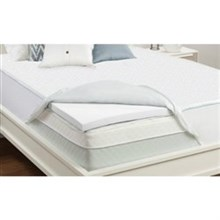 Sealy Twin Size Mattress Toppers sealy 2 inch memory foam mattress topper twin