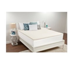 Sealy Twin Size Mattress Toppers comfort revolution 1.5 inch memory foam topper