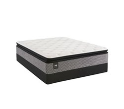 California King Size Cushion Firm Euro Top Mattress and Box Spring Sets sealy smb rio blanco pl et