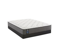 California King Size Cushion Firm Euro Top Mattress and Box Spring Sets sealy smb hallie grace pl tt