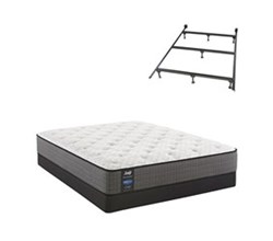 Sealy Twin XL Size Plush Mattress and Boxspring Sets With Bed Frame sealy smb hallie grace pl tt
